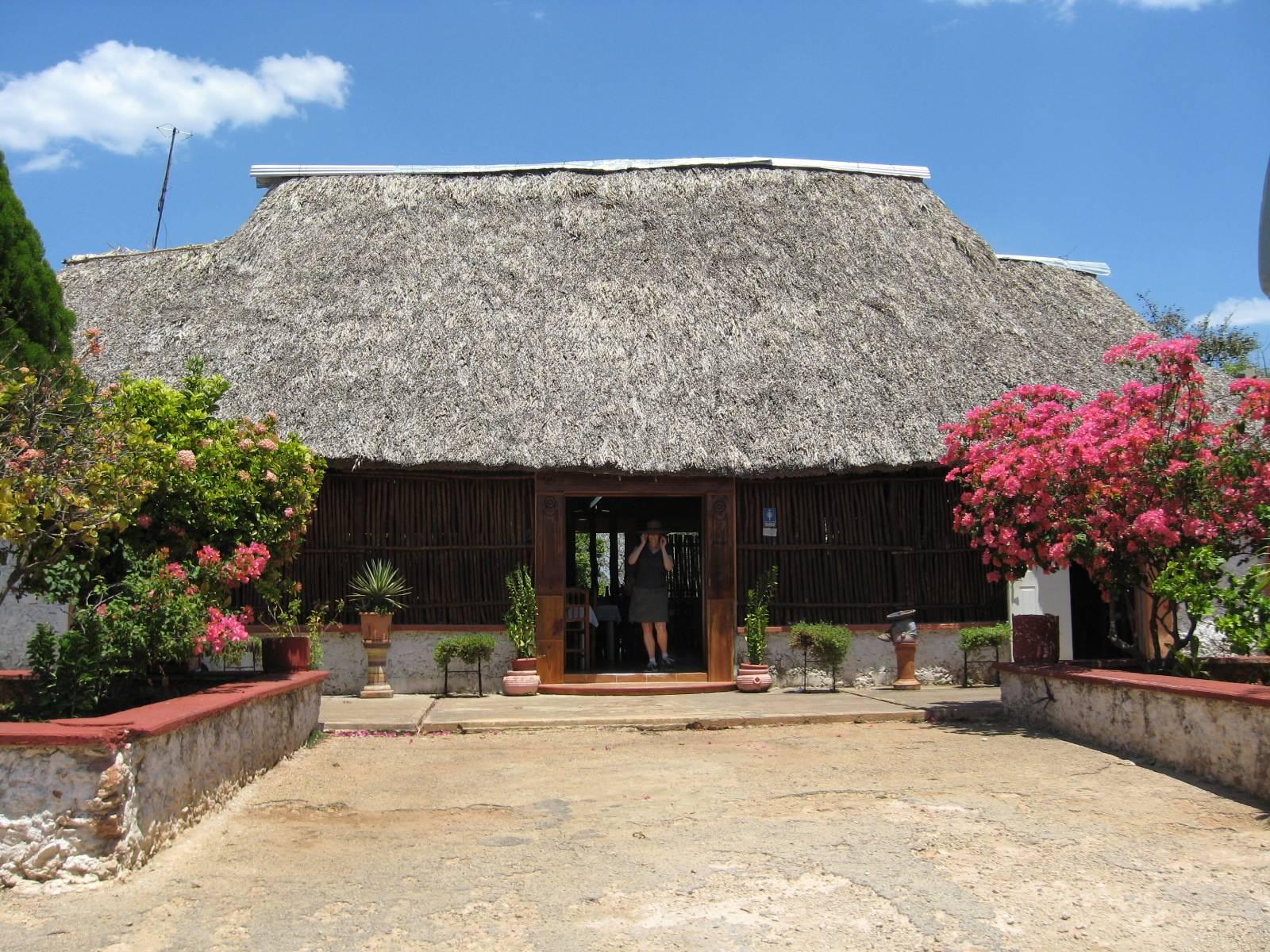 Restaurant Outside Uxmal